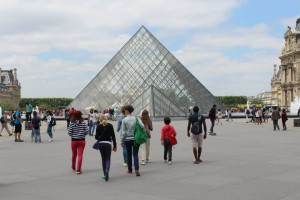 Cultural activities Louvre