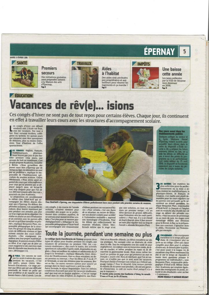 Article L'Union 2016